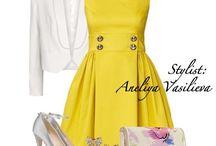 Vestidos y combinaciones de ropa / Ropa