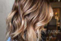 Curly hair brown dye