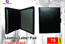 Leather Letter Pad Cover-Black SDBL 6 / Buy Pad Cover, Leather Pad Cover online at Bags Businessarcade.com UAE. We offer branded bags, document Folders, handbags, laptop bags, clutches and much more accessories with the Promise of Quality. Pay cash on delivery at your doorstep..