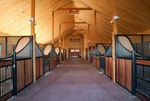 Horse Barns and Facilities / Information and resources on horse barns, arenas, and other equine facilities