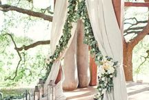 The wedding decor