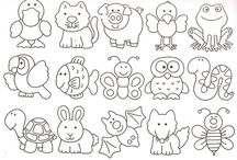 Coloring / Colorign ideas, printables for teaching