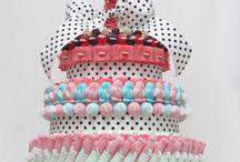 gâteau bonbons