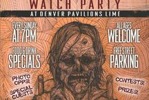 Walking Dead Watch Party @Lime / The Walking Dead Watch Party  at Denver Pavilions Lime on Level 3 (500 16th St. Denver, 80202)  Every Sunday @ 7PM All Ages Welcome Food & Drink Specials Contests Prizes Photos Opps Special Guests Free street parking  $2 special garage rate for the first 20 people / by Denver Pavilions