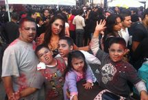 ZOMBIES INVADE TIJUANA! / Zombie Fest 2013, Tijuana, BC, Mexico