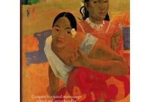Noa Noa, Gauguin / El diario de viaje que el pintor Paul Gauguin realizó en su estancia en Tahití, es uno de los precursores de los modernos Diarios de Viaje de artistas. Sobre él se han editado numerosas portadas. He aquí algunas de ellas.
