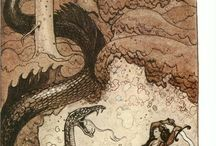 Lohikäärme, dragon, pyhä käärme