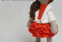 Вязание. Куклы