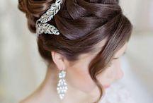 Casamento penteado da noiva