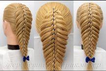 Warkocze, ciekawe fryzury