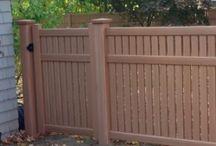 Semi-Private Vinyl Fencing