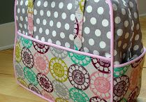 Weekender Bag Tips / Tips and tricks to make Amy Butler's weekender bag
