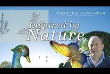 Inspired by Nature / As part of our Natural World Series, Timothy Langston Fine Art & Antiques has created a board to share beautiful images of antiques and decorative objects inspired by nature.