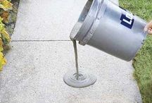 How to resurface a worn concrete