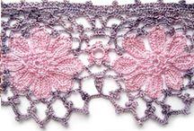 Crochet-borders/edgings / by Lorna Coulthart