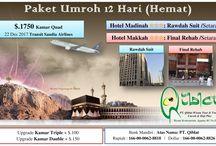 Paket Umroh Desember 2017 / Paket Umroh Murah Desember 2017, Harga Promo Rp 18 Jt All In Fly Saudia Airlines | Rp 20 Jt All In Fly Garuda Indonesia. Hotel Bintang 3 Dekat.