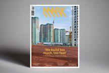 layout - magazine architecture