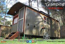 Glamping / Türkiye'de bu işin öncüsü Club Amazon Bördübet, tam 33 yıldır Glamping yapıyor.