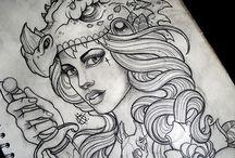 Bozze per tatuaggi