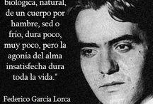 poesía de Federico Garcia Lorca