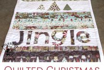 Christmas Quilts & Quilting Projects / All sorts of Christmas quilt inspiration, projects, and ideas to get you in the holiday spirit!