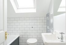 Bathrooms & WC's / The Ground Floor WC and en-suite in the loft is a popular option, and we often include them within our designs. A typical Victorian Terrace will not include these in their original design, but in a busy, modern household they are quickly becoming a must have.