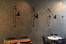 tadelakt restaurant walls