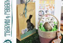 Craft, поделки с детьми / Animals craft. The Lion's paw