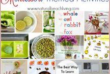 Montessori themes