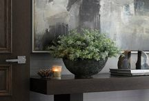 console table in dinning