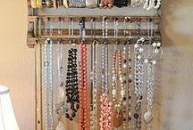 Jewellery storage ideas / by Jo Jones