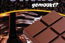 chocolade / boeken over de zoete lekkernij, gemaakt van cacao...