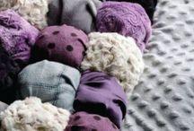 Puff baby blankets