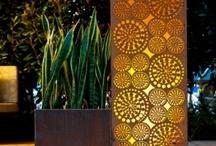 Verlichting tuin / garden lights