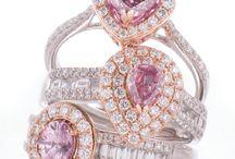 Pink Diamonds by Chisholm Hunter / Stunning Pink Diamonds Available at Chisholm Hunter.  www.chisholmhunter.co.uk