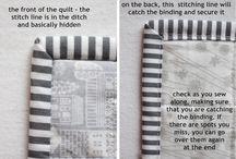 Handige machine quilt tips