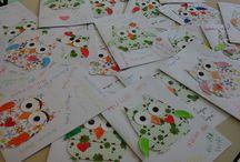 Biglietti di auguri / Progetti realizzati dagli alunni di scuola primaria