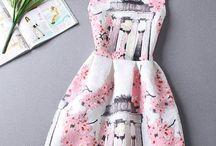 un vestido casual y elegante