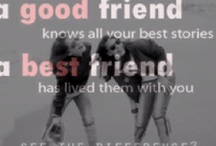 best friends ? I think yes !