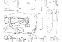 9-11th Century Viking Padlocks and Keys / Viking Padlocks and Keys