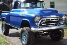 stepsides / My husband and I are looking for a stepside shortbox to rebuild. These are some of my favorites. I like the 50's- 70, styles and he likes the later styles.