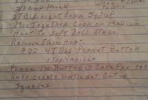 Grandma Palm's Recipes