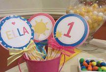 Mi Sol | My Little Sunshine PARTY / fiesta | party