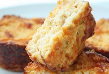 Healthier Thanksgiving Sides / Low Carb cheddar biscuits