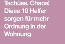 Tschüss Chaos