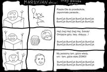 Marsyjan / SF Comics on political situation in Poland under right wing leaders