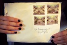 Envelopes / I love the corrispondence. I like writing letters to my friends who live around the world. I'm very excited everytime I receive a letter from a dear pen pal.
