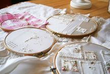 create : embroidery hoops