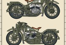 Vintage Harley Davidson Enthusiast Indonesia