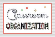 Classroom Organization {Kinder Tribe}